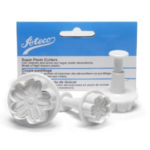 ATECO Daisy Shaped Sugar Paste Cutter Set