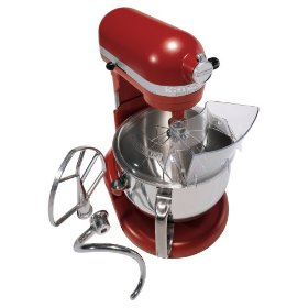 KITCHENAID Stand Mixer Professional 600 Series, Empire Red