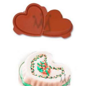 OTHER BRANDS Silicone Baking Pan - Heart