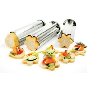 NORPRO Canape Bread Mold, Set of 3