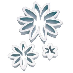 WILTON Fondant Daisy Shape Cut Outs