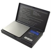 AMERICAN WEIGH Black Digital Pocket Scale, 1000 by 0.1 G
