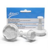 ATECO Daffodil Shaped Sugar Paste Cutter Set