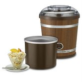 CUISINART Cuisinart 2-Quart Wooden Ice Cream Maker
