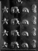 CYBRTRAYD Chocolate Candy Mold - SEA ASSORTMENT