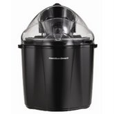 HAMILTON BEACH 1.5 Qt. Capacity Ice Cream Maker - Black