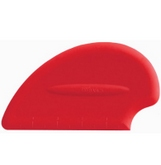 ISI Flexible Silicone Scraper Spatula - Red