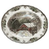 JOHNSON BROTHERS Friendly Village 15.25-Inch Platter