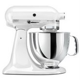 KITCHENAID 5-Quart Mixer, White