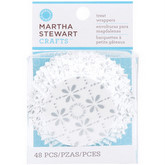 MARTHA STEWART Standard Baking Cups - Pack of 48 - Doily Lace
