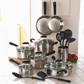OTHER BRANDS 20 Pcs Stainless Steel Cookware