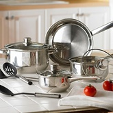 OTHER BRANDS Stainless Steel Cookware Set - 7 Pcs