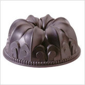 NORDICWARE Platinum Collection Cast Aluminum Non-Stick Fleur De Lis Bundt Pan