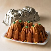 NORDICWARE Non-Stick Pumpkin Harvest Loaf Pan