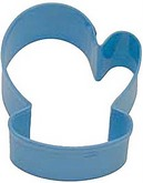 "R&M 3.5"" Mitten Metal Cookie Cutter Poly Resin Coated"
