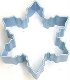 "R&M 3"" Snowflake Metal Cookie Cutter Poly Resin Coated"