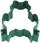 "R&M 3"" Frog Metal Cookie Cutter Poly Resin Coated"