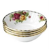 ROYAL ALBERT ĐĨA SOUP Old Country Roses, BỘ 8 CÁI
