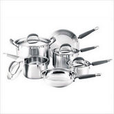 SS Stainless Steel 10 Piece Cookware Set
