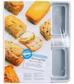 WILTON Mini Loaf Pan 6 Cavity