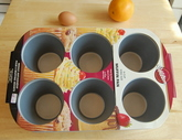 WILTON King Size Muffin Pan-6 Cups