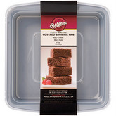 "WILTON Recipe Right Covered Brownie Pan 9""X9""X2"""
