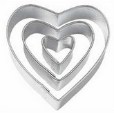 WILTON Heart Cut Outs