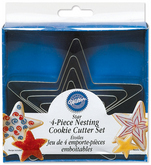 WILTON Cookie Cutter Star Shape - Set of 4
