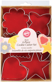 WILTON Cookie Cutter Basic Shape - Set of 6